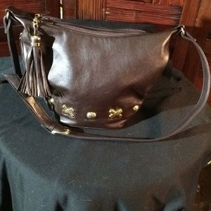 Purse First Editor Shoulder Bag trim in Gold